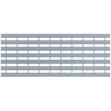 ACO Multiline Seal in lietus kanāla Garenprofilu režģis 0,5m B125  cinkots tērauds