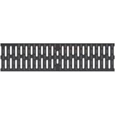 ACO Multiline Seal in lietus kanāla Microgrip kompozītrežģis (melns) 0,5m B125 plastmasas