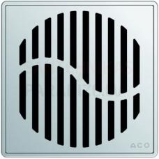 ACO EasyFlow Wave dušas trapa režģis 140 x 140 mm, nav noslēdzams