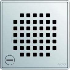 ACO EasyFlow Quadrato dušas trapa režģis 140 x 140 mm, noslēdzams