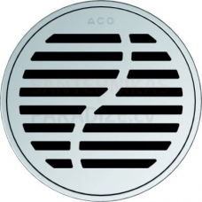 ACO EasyFlow Wave apaļš dušas trapa režģis