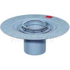 ACO EasyFlow trapa augšdaļa bez režģa ar hidroizolācijas atloku h=36-135 mm
