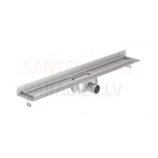 ACO ShowerDrain C 1085x112x65mm dušas traps/notece/kanāls bez režģa, vertikāls flancis