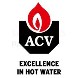 Nerūsējošā tērauda ūdens sildītāji ACV