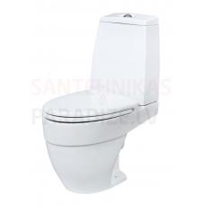AM PM WC tualetes pods ar vāku Soft Close BLISS L (horizontalais izvads sienā)