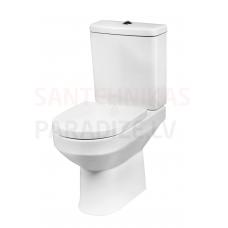 AM PM WC tualetes pods ar vāku Soft Close SPIRIT V2.0 (universalais izvads)