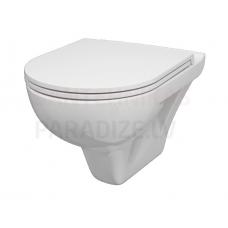 AM PM WC piekaramais tualetes pods ar vāku Soft Close GEM