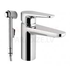 AM PM izlietnes jaucējkrāns ar higiēnas dušu INSPIRE