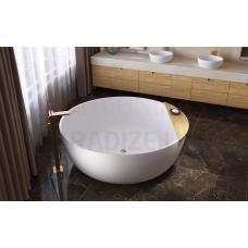AQUATICA brīvi stāvoša vanna ADELINA ROUND 150x150 (balta)