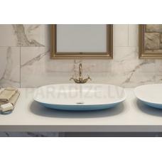 AQUATICA akmens masas izlietne COLETTA-B 75x41.9 Jaffa Blue-White