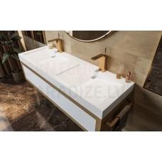 AQUATICA akmens masas izlietne MILLENNIUM-150 152x52 White