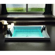 AQUATICA brīvi stāvoša āra/iekštelpu vanna DREAM Cube HydroRelax 200x160 (240V/50/60Hz)