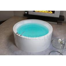 AQUATICA brīvi stāvoša āra/iekštelpu vanna DREAM Rondo Basic 160x160