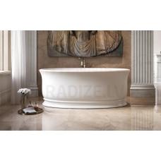 AQUATICA brīvi stāvoša vanna APHRODITE 178x92 (balta)