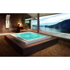 AQUATICA brīvi stāvoša āra/iekštelpu vanna FUSION Cube HydroRelax 230x180 (240V/60Hz)