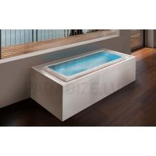 AQUATICA brīvi stāvoša āra/iekštelpu vanna FUSION Lineare Spa by Marc Sadler 220x120 (240V/60Hz)