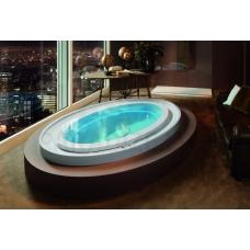 AQUATICA brīvi stāvoša āra/iekštelpu vanna FUSION Ovatus Spa by Marc Sadler 230x150 (240V/60Hz)