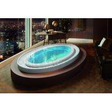 AQUATICA brīvi stāvoša āra/iekštelpu vanna FUSION Ovatus HydroRelax 230x150 (240V/60Hz)
