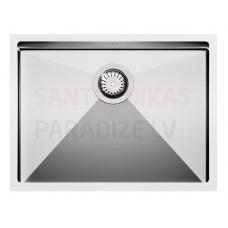 Aquasanita nerūsejošā tērauda virtuves izlietne ENNA 600 59x45 cm