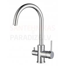 Aquasanita virtuves jaucējkrāns SABIADUO Chrome