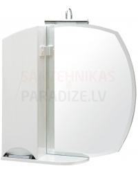 Aqua Rodos Glorija ZGLP65 (L) Spoguļskapis, 65cm