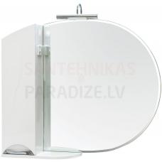 Aqua Rodos Glorija ZGLP95 (L) Spoguļskapis, 95cm