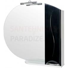 Aqua Rodos Premium  95 (R) Spoguļskapis (melns)