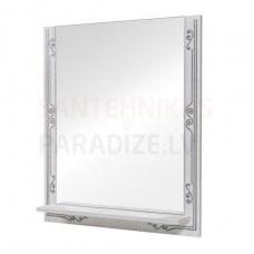 Aqua Rodos Bomond  70 Spogulis ar plauktu (balts)