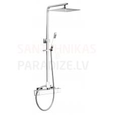 KFA termostata jaucējkrāns ar dušas komplekts-sistēma CASSINI