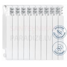 KFA higiēnisks alumīnija radiators G500F SILVER IONS ( 1 riba/sekcija)