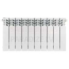 KFA alumīnija radiators G350F (10 ribas/sekcijas)