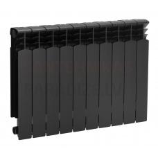 KFA alumīnija radiators G500F BLACK (10 ribas/sekcijas)