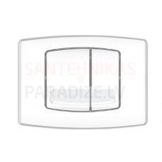 KPOL M01 sienā iebūvējama poda poga (balta)