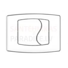 KPOL M03 sienā iebūvējama poda poga (balta)