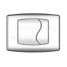 KKPOL M03 sienā iebūvējama poda poga (hroms)