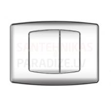 KKPOL M04 sienā iebūvējama poda poga (hroms)