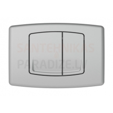 KKPOL M01 sienā iebūvējama poda poga (satīns)