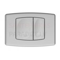 KKPOL M02 sienā iebūvējama poda poga (satīns)