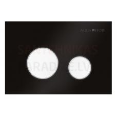 KKPOL M11V1 sienā iebūvējama poda poga (melns/balta)