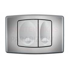 KKPOL M02 sienā iebūvējama poda poga (hroms)