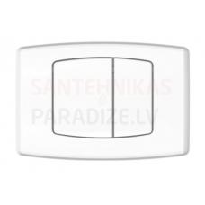 KPOL M04 sienā iebūvējama poda poga (balta)