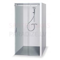 Baltijos Brasta dušas durvis GABIJA caurspīdīgs stikls 200x100
