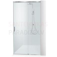 Baltijos Brasta dušas durvis GABIJA SOFT caurspīdīgs stikls 200x100