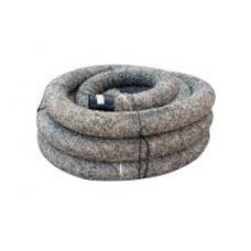 PVC drenāžas caurule ar PP filtru  450μ 128/113 (50m)