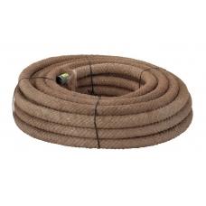 PVC drenāžas caurule ar kokosa filtru  58/50 (150m)