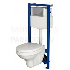 CERSANIT WC iebūvējamā montāžas rāmja komplekts INTEO
