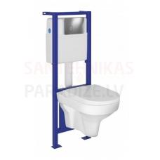 CERSANIT WC iebūvējamā montāžas rāmja komplekts LARO
