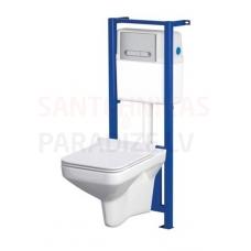 CERSANIT WC iebūvējamā montāžas rāmja komplekts NAXOS