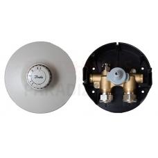 Danfoss FHV-R komplekts: atgriezes temperatūras robežvārsts ar gaisa atveri un izplūdes pārslēgu