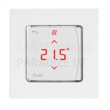 Danfoss istabas termostats ar displeju ICON virsapmetuma 230V/50Hz 5-35°C